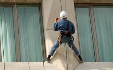 Health and Safety testing for rope access eyebolts